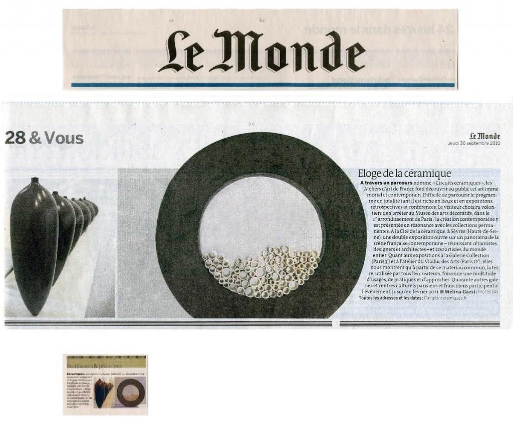 Le Monde 30092010